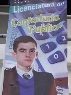 [Foto] Supuesta publicidad de una universidad mexicana utiliza foto de un actor porno