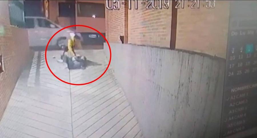 Mujer agredida en Chicó