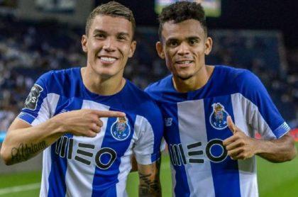 Mateus Uribe y Luis Diáz, campeones con el Porto en Portugal