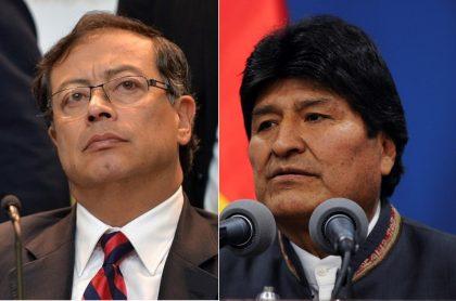 Petro y Evo Morales