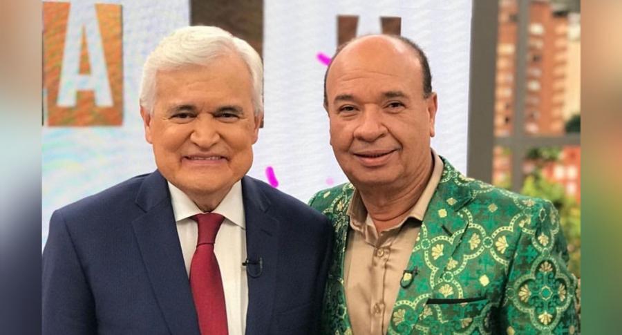 Jorge Barón y Luis Alberto Posada