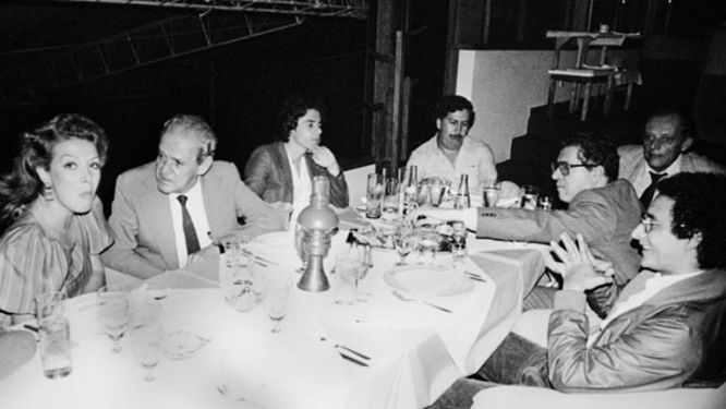 Foto original de Pablo Escobar