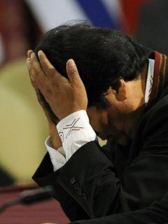 [Video] Encapuchados asaltan casa de Evo Morales y saquean sus pertenencias