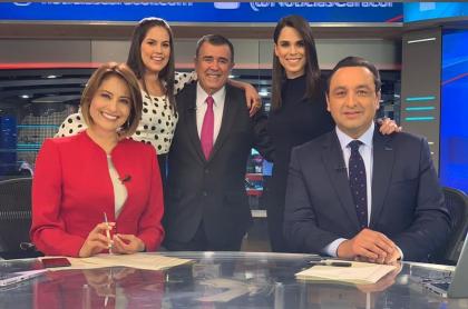 María Lucía Fernández, Linda Palma, Javier Hernández Bonnet, Andreina Solórzano y Jorge Alfredo Vargas