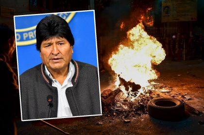 Evo Morales e incendios en Bolivia