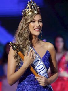 María Fernanda Aristizábal, Señorita Colombia 2020.