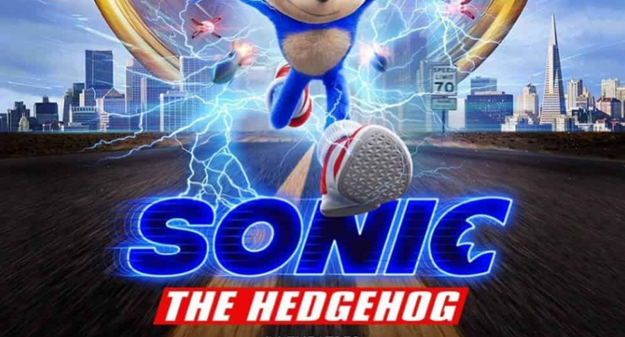 Afiche película Sonic