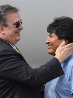 Evo Morales es declarado por el gobierno mexicano como huésped distinguido