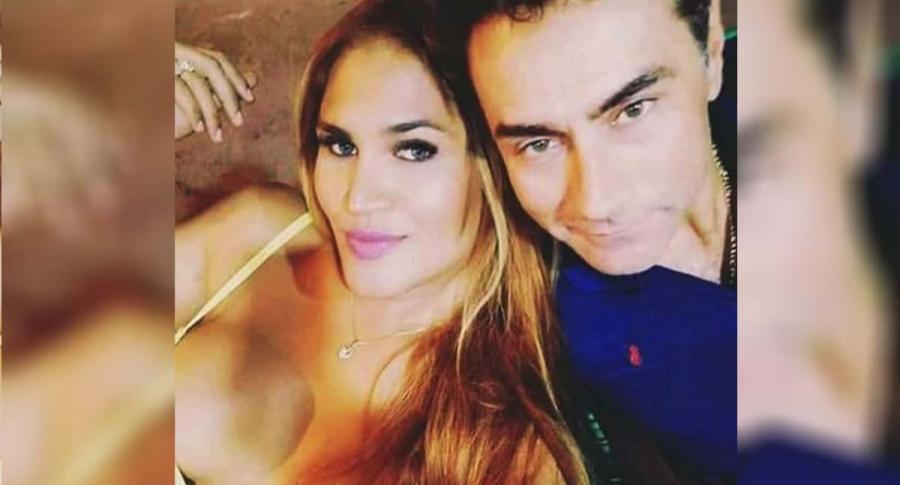 Mauro Urquijo y su esposa, María Gabriela Isler.