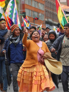Militarizada y en conmoción, Bolivia se alista para dejar atrás la era de Evo Morales