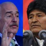 Andrés Pastrana y Evo Morales