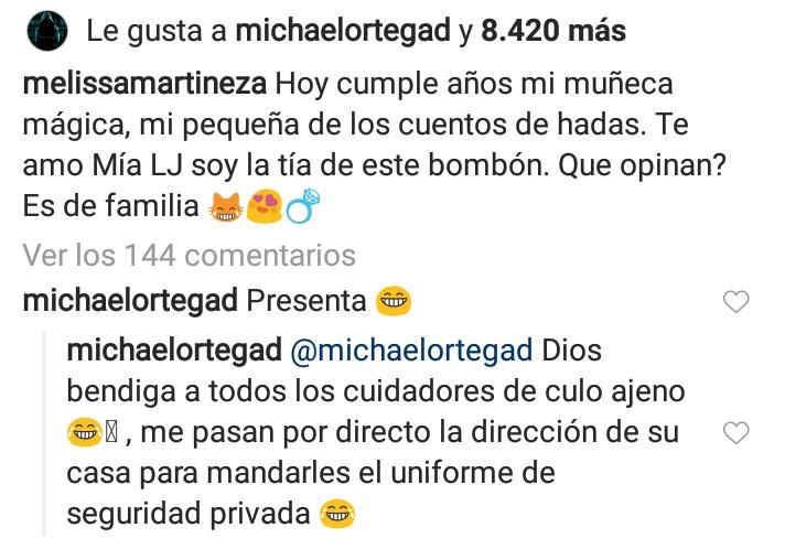 Respuesta Michael Ortega