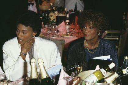 Robyn Crawford y Whitney Houston