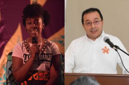 Rosaura Hinestroza y Carlos Mario Estrada
