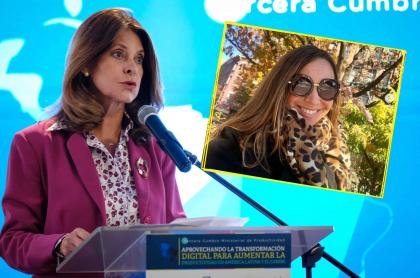 Marta Lucía Ramírez y Darcy Quinn