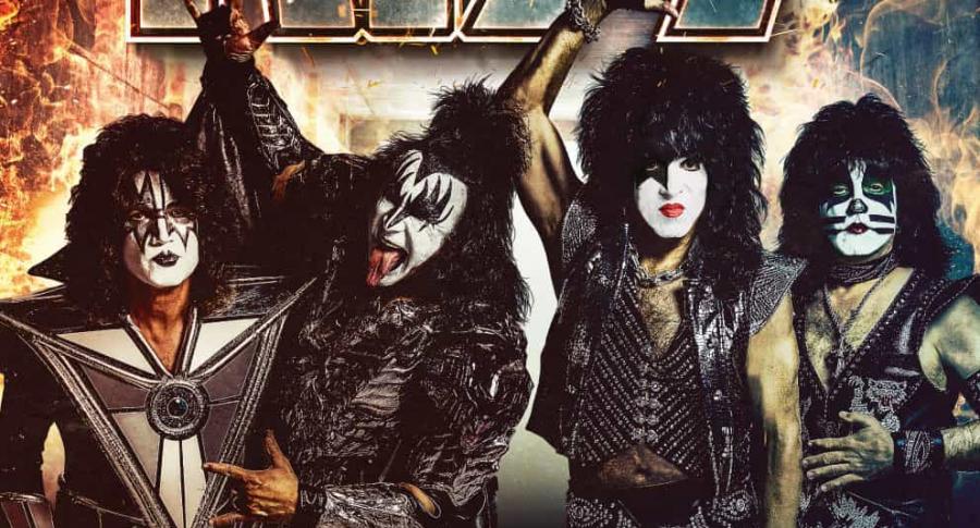 Afiche concierto Kiss Bogotá 2020