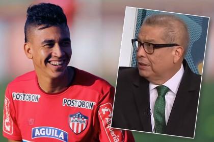 Víctor Cantillo y Hugo Illera