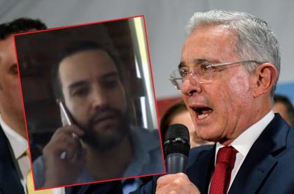 Jaime Restrpo, 'el Patriota' y Álvaro Uribe Vélez