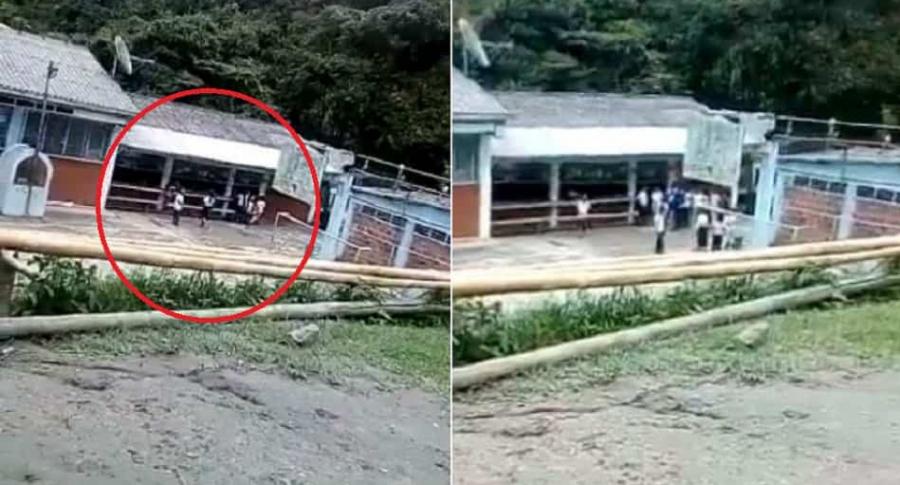 Enfrentamiento en Cauca