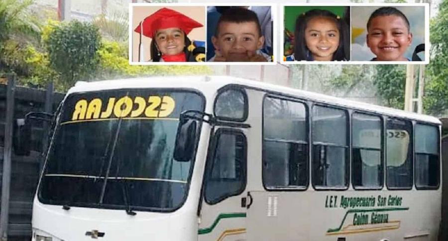 Accidente escolar en Nariño