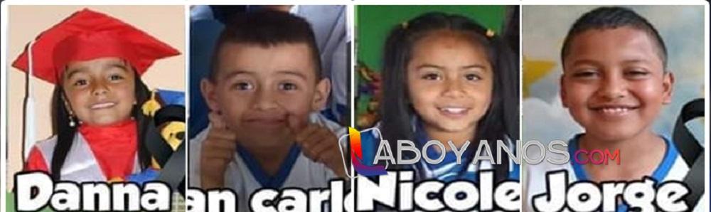 Menores víctimas de accidente en Nariño