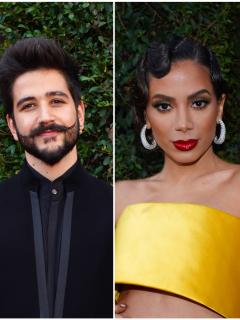 Un seductor Camilo, Thalía como caperucita (de cuero) y más pintas de los Grammy Latinos