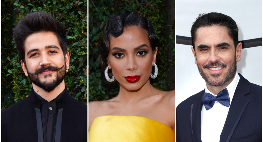 Camilo, Anitta y Lincoln Palomeque