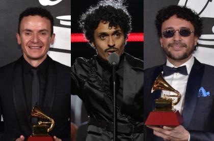 Fonseca, Juancho Valencia y Andrés Cepeda