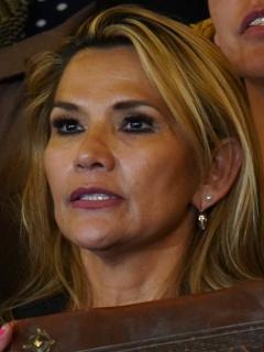 """Los trinos discriminatorios que presidenta de Bolivia borró: llamaba """"pobre indio"""" a Evo"""