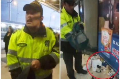 Humillante requisa de policía.