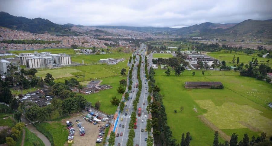 Ampliación Avenida Caracas