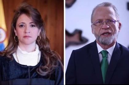 Cristina Lombana y Antanas Mockus