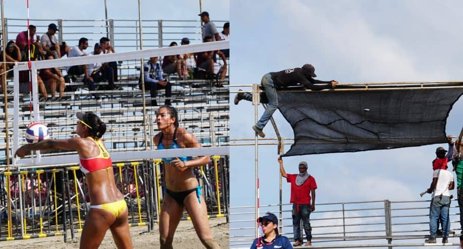 Voleibol playa en Juegos Nacionales