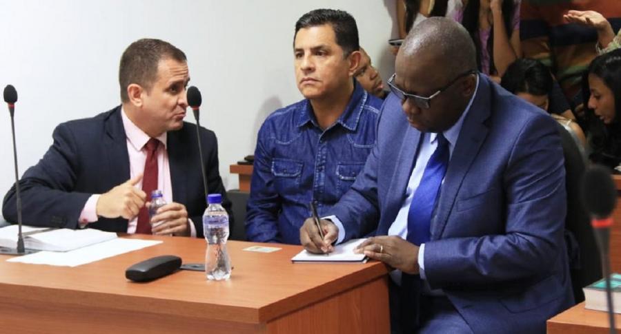 Audiencia a Jorge Iván Ospina
