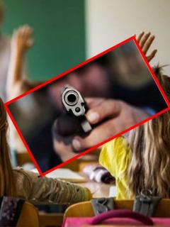 Matan a hombre en un colegio, mientras los niños recibían clase