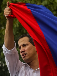 Hasta que caiga Maduro (como cayó Evo Morales), el pedido de Guaidó en protestas