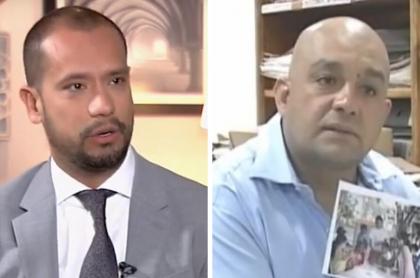 Diego Cadena y Juan Carlos Rodríguez Agudelo