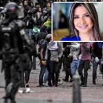 Esmad en protesta estudiantil / Vicky Dávila