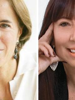 Salud Hernández y María Jimena Duzán
