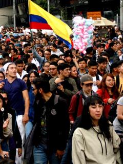 Confirman puntos de partida para movilizaciones del paro nacional, en Bogotá