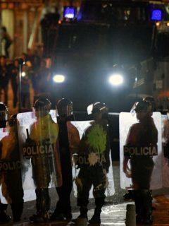 Los 2 venezolanos que alarman a Policía porque vienen a Colombia preciso para el paro