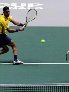 Cabal y Farah salvaron honra de Colombia durante debut en Grupo Mundial de Copa Davis