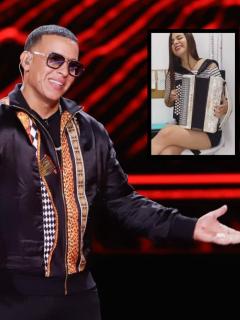 Versión de 'Que tire pa' lante' que colombiana hizo en acordeón y publicó Daddy Yankee