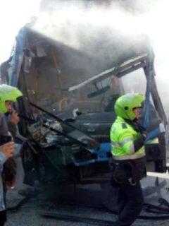 Accidente de buses del SITP, que dejó 70 valorados, pudo ser peor