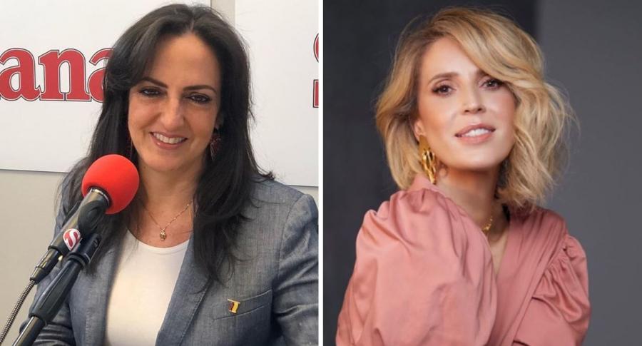 María Fernanda Cabal y Alejandra Azcárate