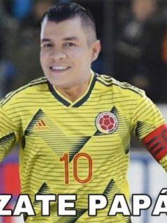 """""""Grande, Alzate en la Selección"""" y más memes al joven que se puso la '10' de Colombia"""