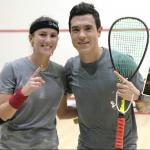Catalina Peláez y Miguel Ángel Rodríguez