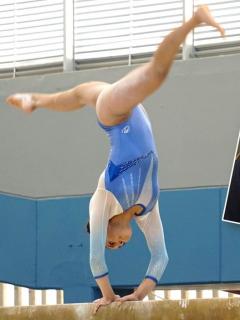 [Video] Ni esta aparatosa caída, sacó a talentosa gimnasta bogotana del podio