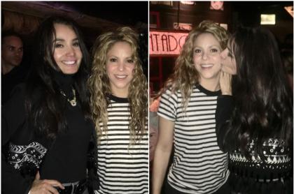 Xilena Aycardi y Shakira