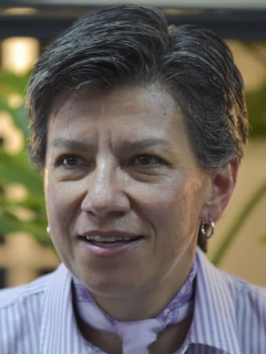 Claudia López (por fin) habló del paro, y dijo que un gobierno no puede temer a ciudadanos